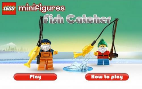 Lego Рыбалка