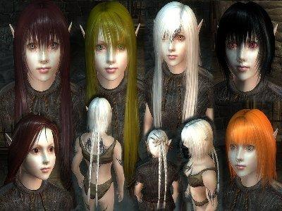 новые расы для Oblivion