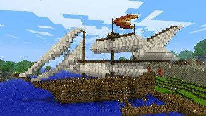 Что можно построить в Minecraft