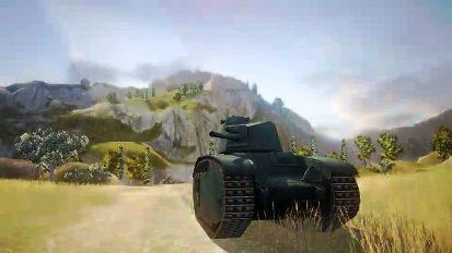 французские танки в World of tanks
