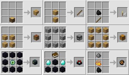 вещи в Minecraft
