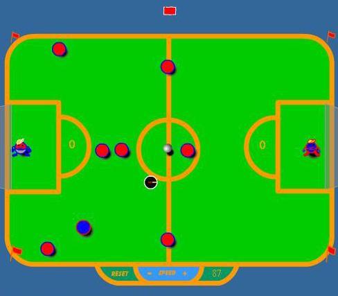Настольная футбольная флеш игра