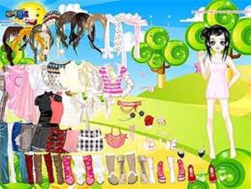 Игры одевалки для девочек и девушек