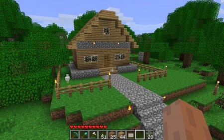 Игры майнкрафт как сделать дом красивый 754