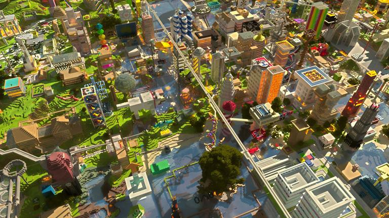 майнкрафт карта на выживание в городе зомби