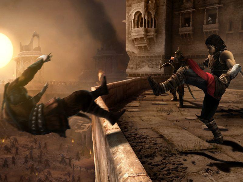 Скриншот 4 игры Prince of Persia The Forgotten Sands/Принц Персии: Заб
